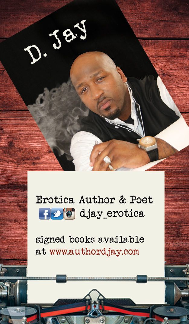 Author D. Jay Business Card – The Dzign Studio